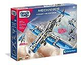 Clementoni-55160 - Mechanics - Aviones y Helicopteros - juego de construcciones mecánica a partir de 8 años