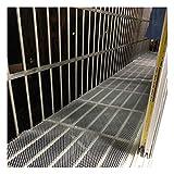 Rete Di Protezione Per Balconi Da Giardino Contro Gli Aironi Protezione Per Alberi Da Frutteto Rete Per Prato Protezione Per Griglie Da Giardino, Bianca, Dimensioni: (Size:0.4CM Aperture,Color:bianca)
