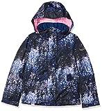 Roxy Jetty-Chaqueta para Nieve para Chicas, Niñas, Medieval Blue Sparkles, 16/XXL