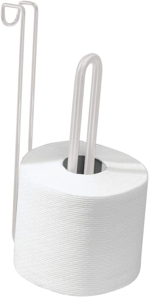 mDesign Over Shipping included El Paso Mall The Tank Toilet Dispenser Tissue Roll Holder Paper