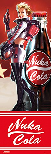 GB Eye Poster Fallout 4 Nuka Cola, Holz, mehrfarbig, 53 x 158 cm