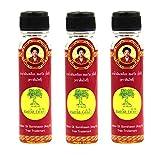 Hotel spa naturaleza tailandesa aroma herbal aceite amarillo Precio de venta al por mayor de Tailandia (Aceite Amarillo Paquete 3)