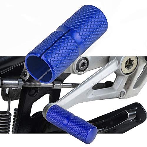 Schalthebel- und Bremshebelvergrößerung Für B-M-W K1100LT K1100RS K1200GT K1200LT K1200RS K1300GT Blau