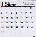 高橋 2021年 カレンダー 壁掛け B2変型 E31