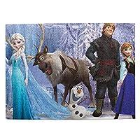 アナと雪の女王frozen (33) マイクロピース 500ピース ジグソーパズル 書架-木製パズル 絵画 大人 向け(6歳以上が適しています)(52.2x38.5cm)
