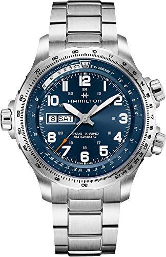 Hamilton Khaki X-Wind Day Date H77765141 Orologio automatico uomo