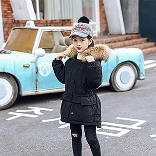 FDSAD Nueva Chaqueta De Abrigo para Niños Al Aire Libre para Niñas Versión Coreana Larga De La Ropa Gruesa para Niñas De A...