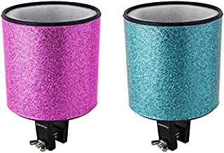 Huffy Cozy Bike Bicycle Drink Cup Holder, Teal/Pink
