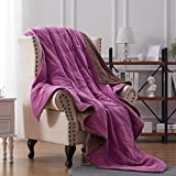 NexHome Blanket Fleece Blanket Soft Blanket Microfiber Twin Queen King Size Plush Throw Blankets for Couch Fuzzy Blanket...