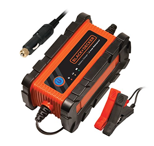 Black+Decker BC2WBD Cargador/Mantenedor para Batería, 2 Amp