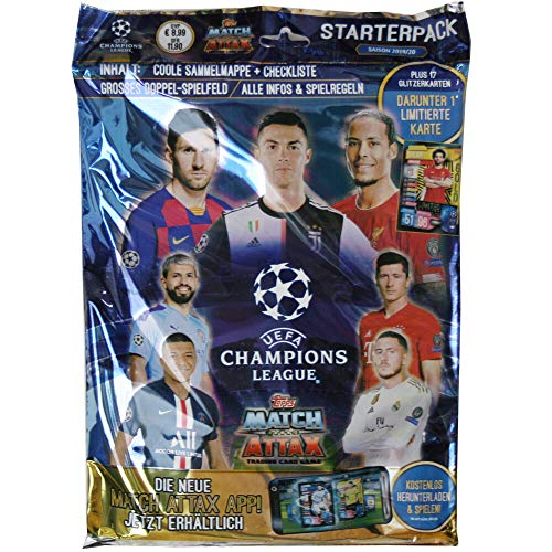 Topps Champions League 2019/20 - Trading Cards - 1 Starter - Deutsch