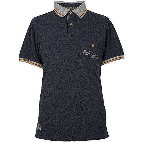 Land Rover Herren Heritage Polo Shirt XS Navy