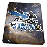 Mouse Pads,Danganronpa Vs. Phoenix Wright Ace Attorney Mousepad,Attractive Decorative Desk Pads For Home Computer,18x22cm
