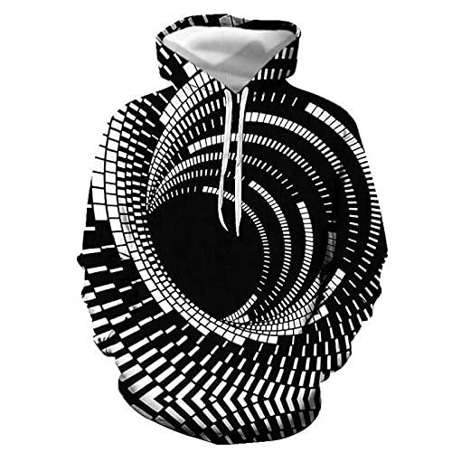 guiyuan Sudadera con Capucha Suéter Deportivo Color Sólido Otoño Suelto Casual De Manga Larga De Algodón Rizo Cuello Redondo Suéter De Color Sólido Más Terciopelo De Manga Larga 5 L
