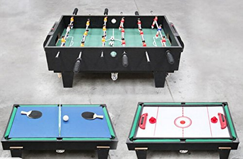 4 in 1 Multi Game Tafel Pool / Air Hockey / Tafeltennis / Tafelvoetbal