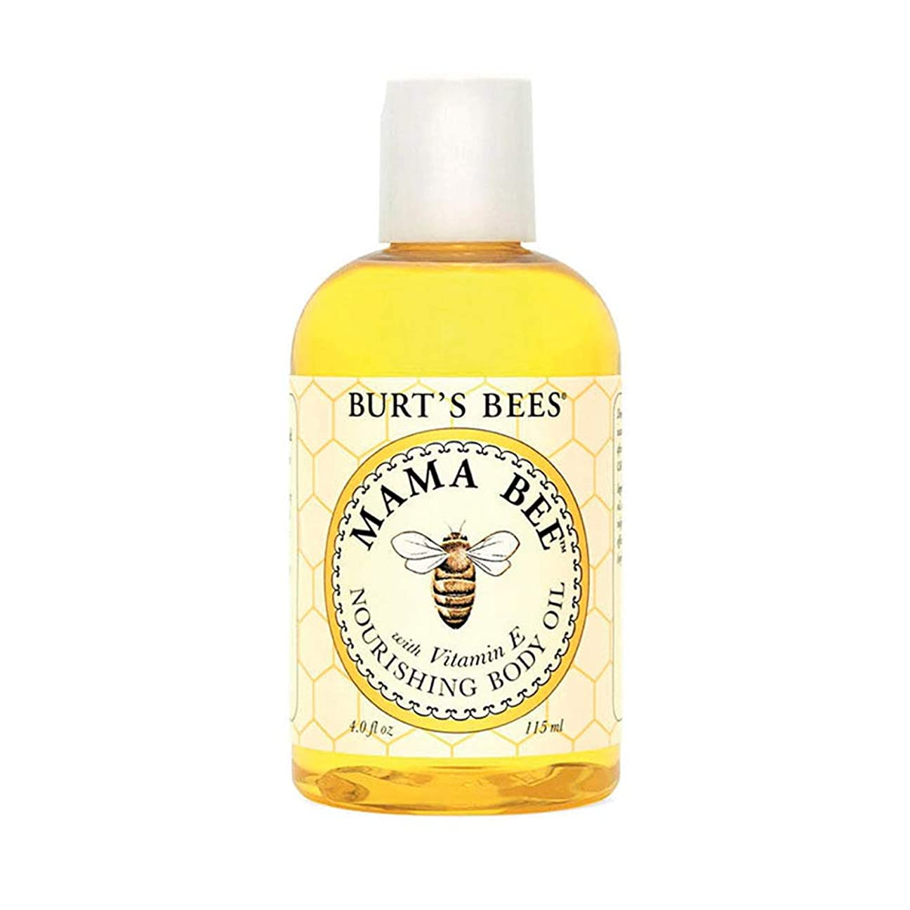 花に水をやるガム配列Burt's Bees 100% Natural Mama Bee Nourishing Body Oil, 4 Ounces by Burt's Bees