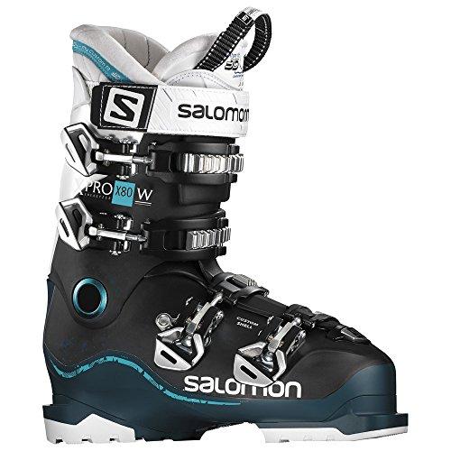 SALOMON Scarponi da Sci l392372X PRO 80W, Schwarz/Blau (706)