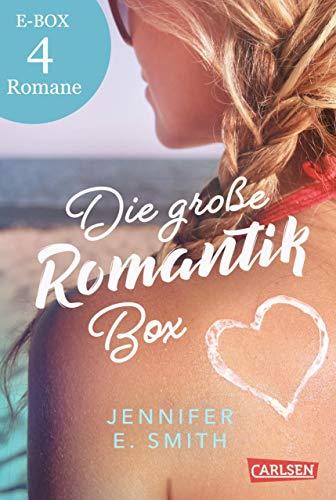 Die große Romantik-Box: 4 Liebesromane von Jennifer E. Smith: Punktlandung in Sachen Liebe, Der...