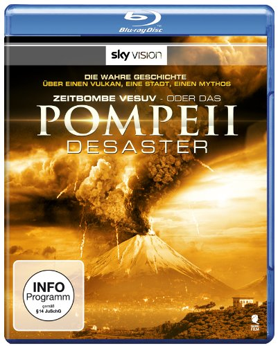 Zeitbombe Vesuv - Das Pompeii Desaster (Parthenon / SKY VISION) [Blu-ray]
