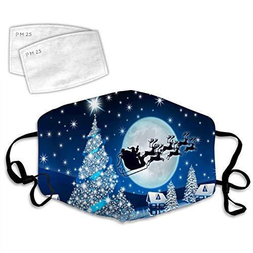 Bandana reutilizable de la cara del mármol de la onda azul 977, bufanda respirable del pasamontañas de las cubiertas de la boca para al aire libre