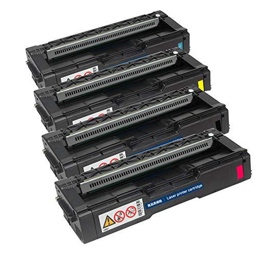 Für Ricoh SP C220C Aficio SP C200N C220S C221SF C222DN C240DN Kompatible Tonerkartuschen Ersatz für Ricoh Laserdrucker-Combination