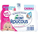 Mont Roucous - Eau Plate - Les 12 Bouteilles De 25Cl - Prix De L'Unité - Livraison Rapide En France Métropolitaine Sous 3 Jours Ouverts