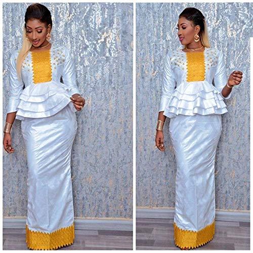 Mode Africaine Vetements Haut De Gamme Getzner Magnum Or Africaine Robe Africaine Africaine Robe Bazin Boubou Grande Taille Robe Plus Size Clothing Amazon Fr Handmade