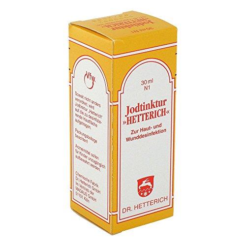 Jodtinktur Hetterich, 30 ml