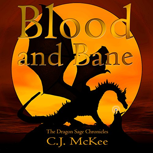 Blood and Bane audiobook cover art