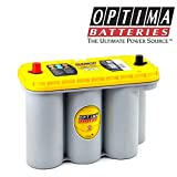 OPTIMA AMARILLA YELLOWTOP YTS5,5 DE BATERÍA 12 V, 70 Ah YT 5,5 DEEP YELLOW CYCLE S TOP