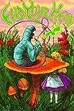 RhythmHound Laminiertes Alice im Wunderland Feed Your Head