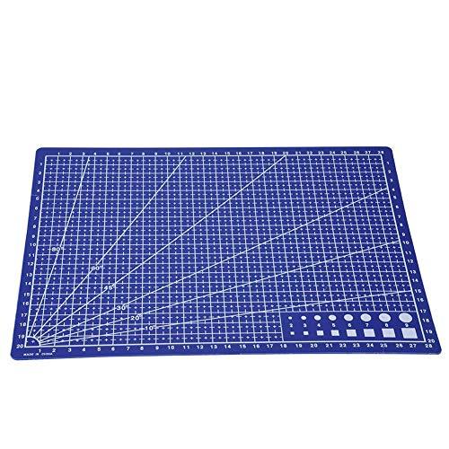 Alfombrilla de corte autocurativa, cuadrícula de acolchado A4, tabla de cortar para...