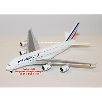 Avion AIRBUS A380 Airlines /& Double Decker avion jouet feux clignotant//Sound