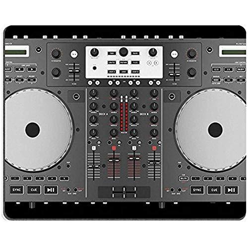 Mousepads Bovenaanzicht Van Dj Mixer Controller Geïsoleerd Op Zwarte Achtergrond 21785867 Aangepaste Art Desktop Laptop Gaming Mouse Pad