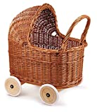 Egmont Toys - Carrozzina con ruote in gomma e biancheria da letto