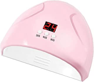 Rosa Led Clavo De La Lámpara De 36w Nail Inducción Inteligente Secadora 3 Modos De Esmalte En Gel Secadora Rápido Curado UV Terapia De La Lámpara De La Máquina De Uñas
