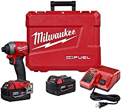 MILWAUKEE'S (MLW 2853-22) M18 Fuel 1/4IN Hex Impact Driver XC Kit