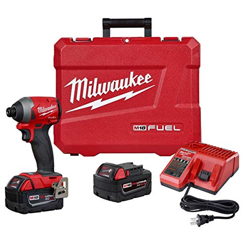Milwaukee (MLW 2853-22) M18 Fuel 1/4IN Hex Impact Driver XC Kit $179 Plus Extra 5% off with Amazon Visa
