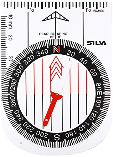 Silva boussole Demo, Blanc, taille unique