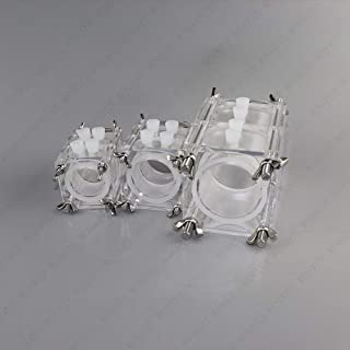 MFC Microbial Fuel Cell Box Microchemical Electrolytic Cell for Zinc-Air-Aluminum-Air Battery (28ml)
