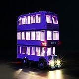 LIGHTAILING Conjunto de Luces (Harry Potter Autobús Noctámbulo) Modelo de Construcción de Bloques - Kit de luz LED Compatible con Lego 75957 (NO Incluido en el Modelo)