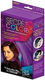 Secret Color Headband Hair Extensions Purple by Allstar Marketing Group