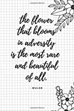 flower blooms in adversity
