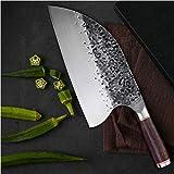 Neues Kochmesser Fleischermesser Aus Rostfreiem Stahl 5CR15MOV Hieb Chinese Cleaver Küchenmesser Chef Werkzeuge Mit Holzgriff Kochen (Color : HP S1003, Kitchen Knife Size : 8 inch)