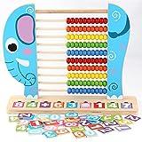 Juguetes para niños Juguetes de madera, el aprendizaje de matemáticas Números...