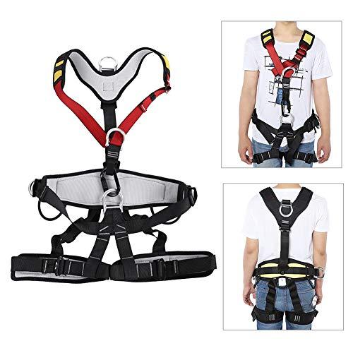 Veiligheidsgordel, Luchtwerk Verstelbare Veiligheid Touw Rescue Apparatuur Bergbeklimmen Werk Hoogte Veiligheid Riem Val Arrest Body Rescue Rope