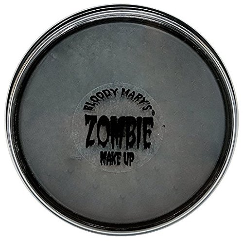 Gray Zombie Foundation Wheel For Theater, Costume, Halloween By Bloody Mary