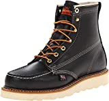 Thorogood Men's 814-6201 American Heritage 6' Moc Toe, MAXwear Wedge Non-Safety Toe Boot, Black - 11.5 D US