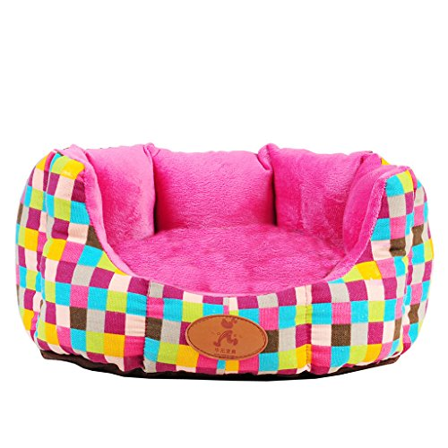 KTYX Pet Nest Cat And Puppy Sofa Bed Removable And Washable (3sizes) (Size : S:45 * 40 * 18CM)