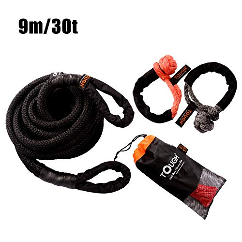 Great Price! QDTD Automotive Ropes Tow Towing Ropes, High-Strength Car Tow Rope,for Car/SUV/Emerge...